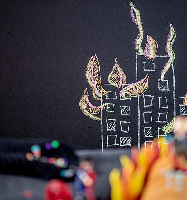 Feuerwehr-Kuchen zum Kindergeburtstag! 27