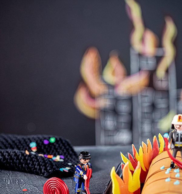 Feuerwehr-Kuchen zum Kindergeburtstag! 28