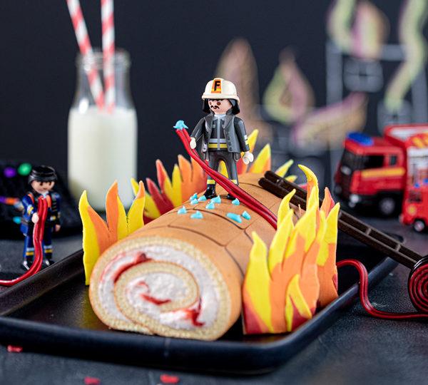 Feuerwehr-Kuchen zum Kindergeburtstag! 2