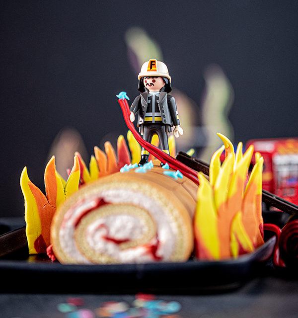 Feuerwehr-Kuchen zum Kindergeburtstag! 29