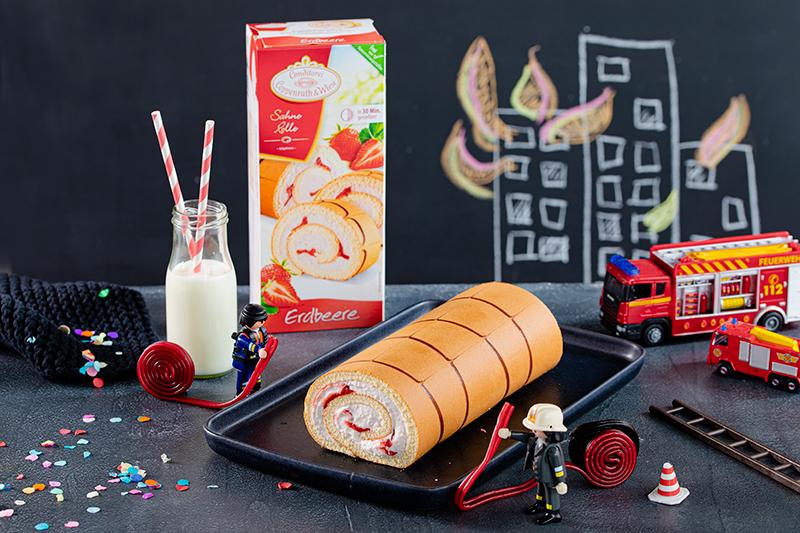 Feuerwehr-Kuchen zum Kindergeburtstag! 30