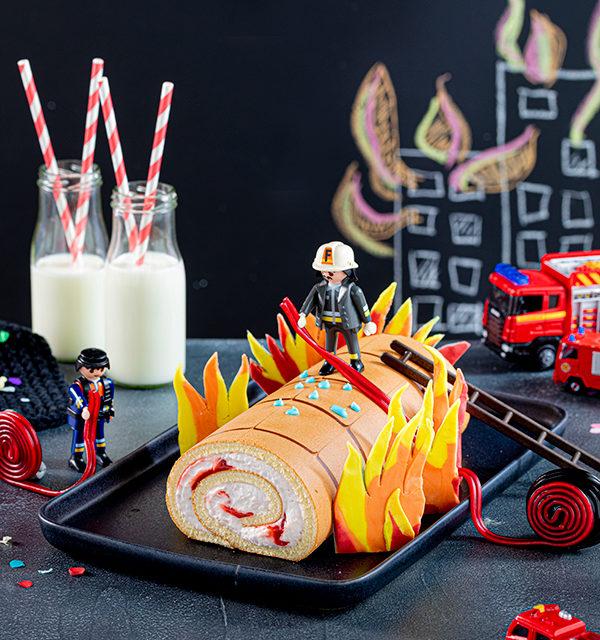 Feuerwehr-Kuchen zum Kindergeburtstag! 4