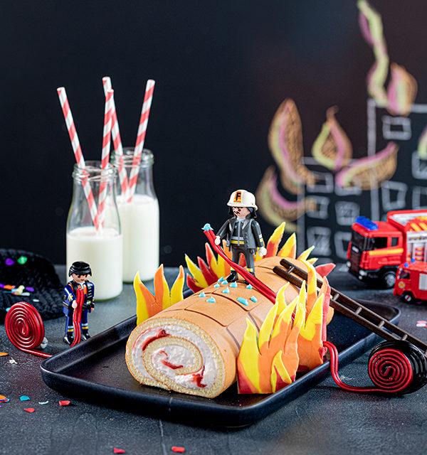 Feuerwehr-Kuchen zum Kindergeburtstag! 7