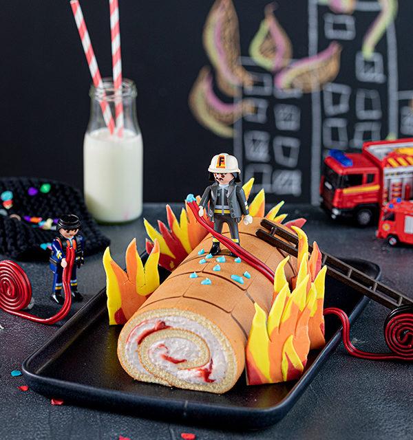 Feuerwehr-Kuchen zum Kindergeburtstag! 8