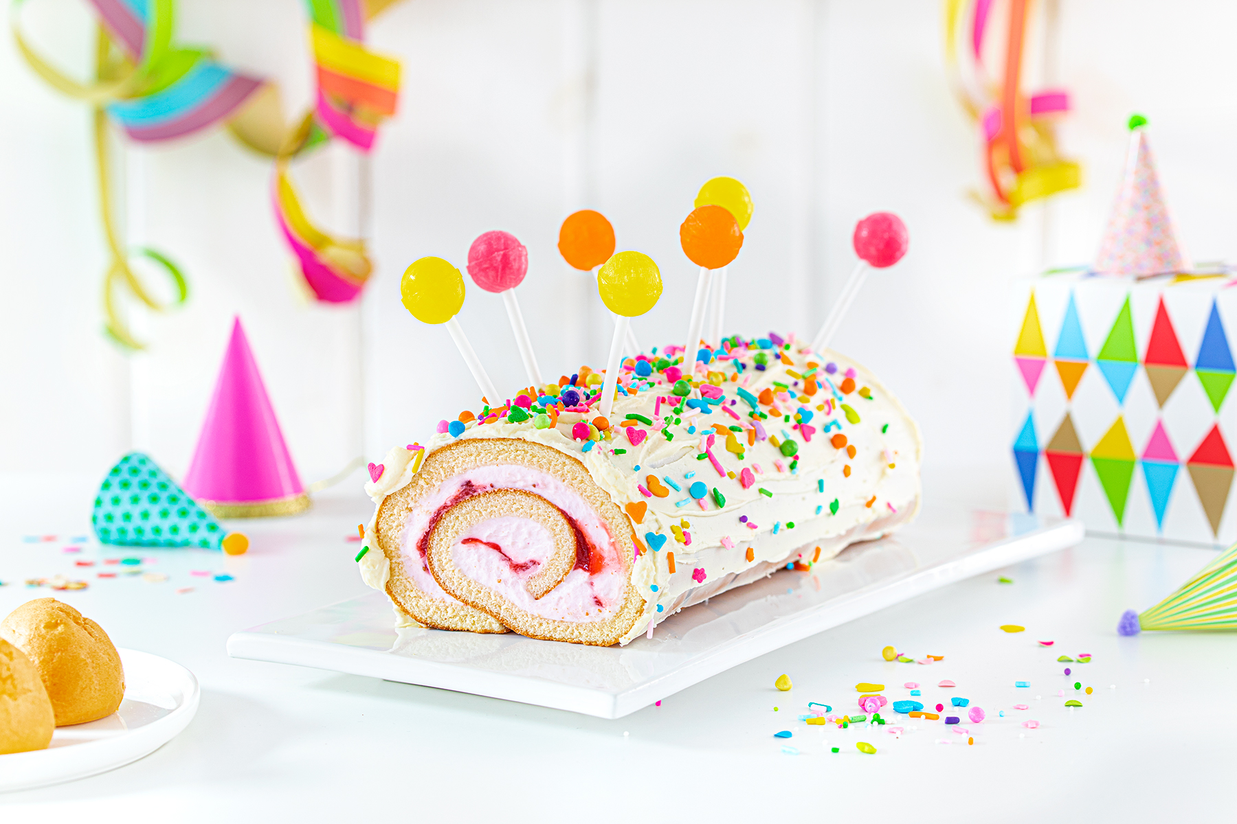 Kinderrezept für eure Karnevalsparty: Lolli-Rolle! 1
