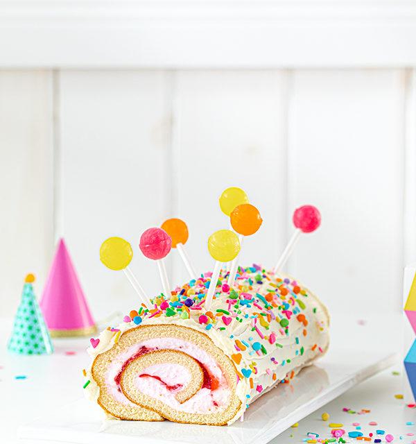 Kinderrezept für eure Karnevalsparty: Lolli-Rolle! 6