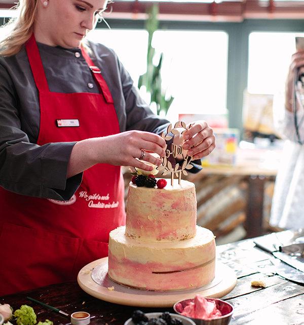 Bloggerevent: Hochzeitstorte selber machen 26
