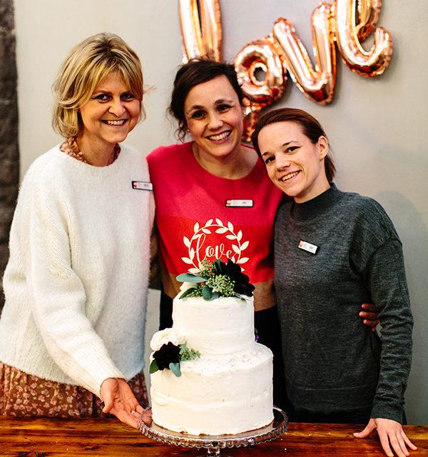 Bloggerevent: Hochzeitstorte selber machen 42