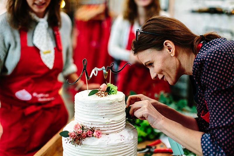 Bloggerevent: Hochzeitstorte selber machen 73