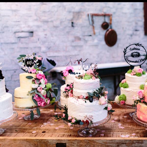 Bloggerevent: Hochzeitstorte selber machen 81