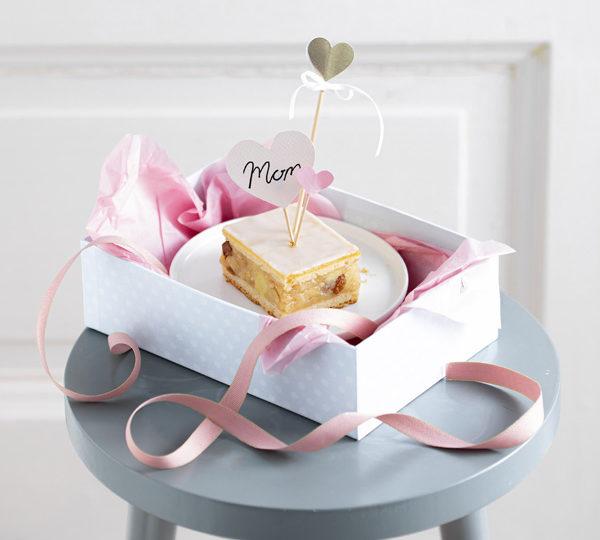 Muttertagsgeschenk: Süße Kuchenbox