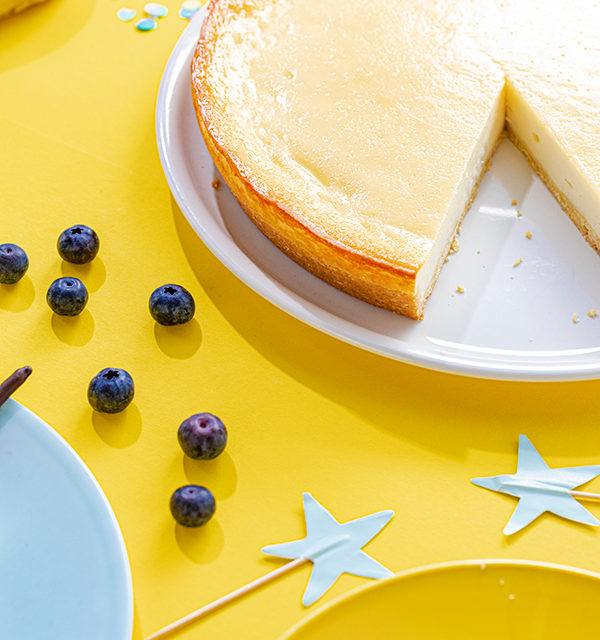 Kreatives Essen für Kinder: Eistüte aus Käsekuchen und Obst 22