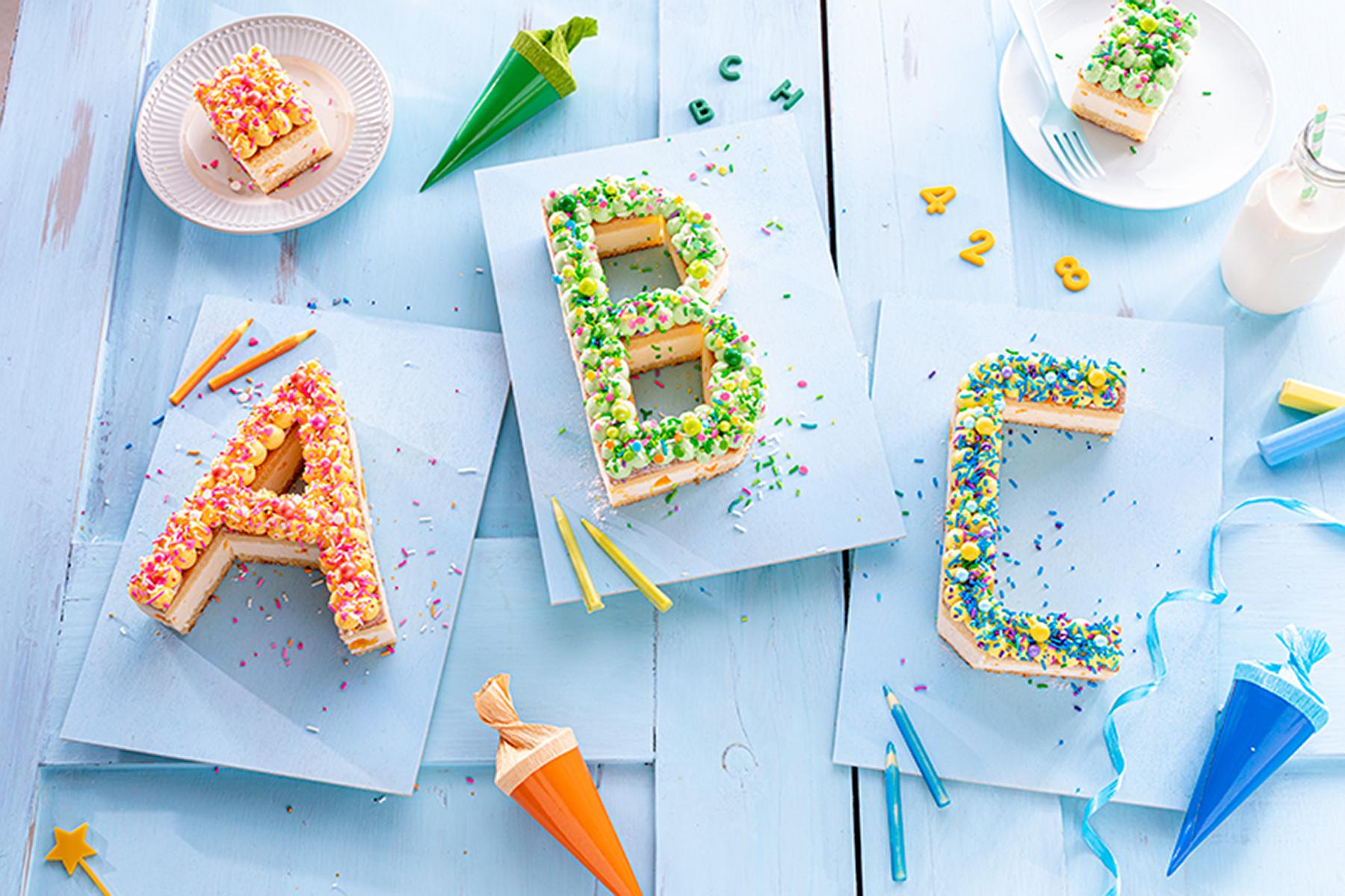 ABC-Lettercake zur Einschulung 32
