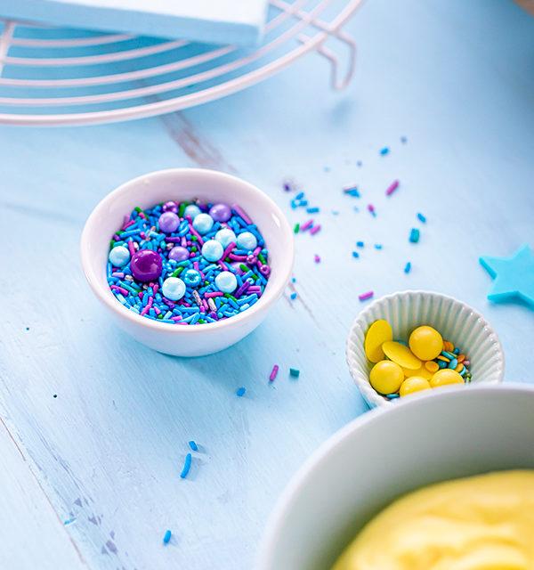 ABC-Lettercake zur Einschulung