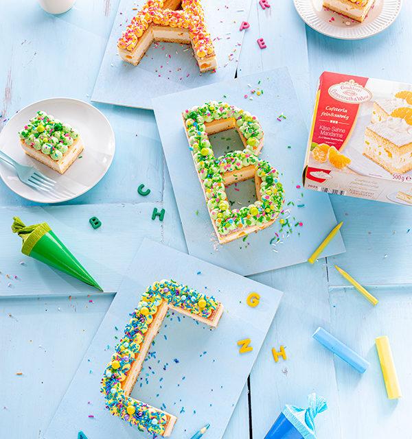ABC-Lettercake zur Einschulung 6