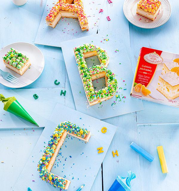 ABC-Lettercake zur Einschulung 8