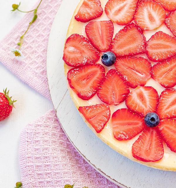 Cheeecake mit Erdbeeren 13