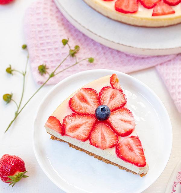 Cheeecake mit Erdbeeren 17