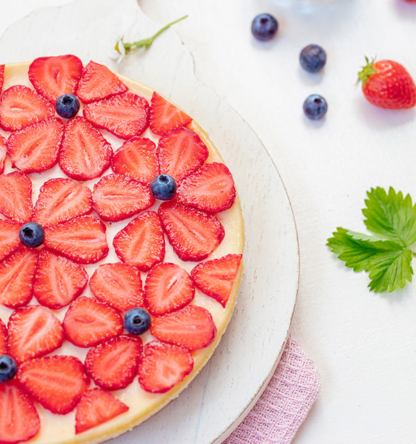 Cheeecake mit Erdbeeren 18