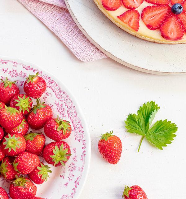 Cheeecake mit Erdbeeren 23