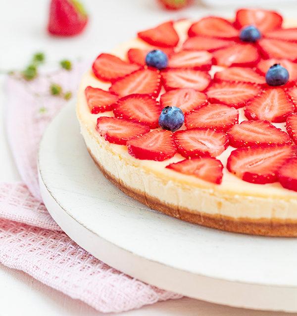 Cheeecake mit Erdbeeren 24
