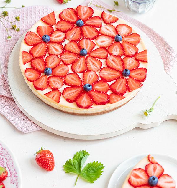 Cheeecake mit Erdbeeren 25