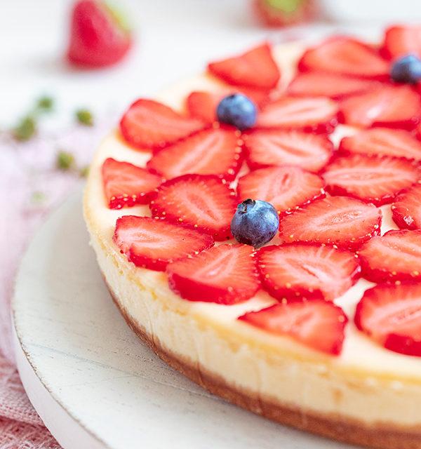 Cheeecake mit Erdbeeren 26