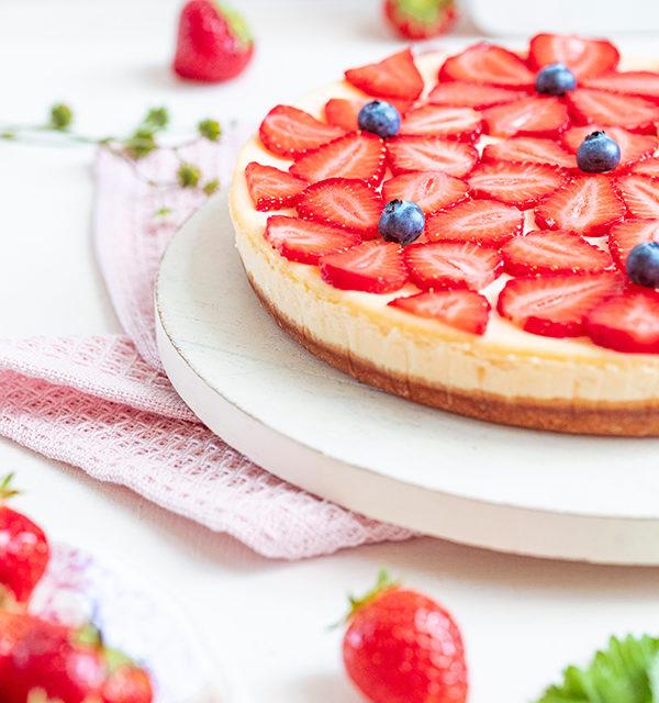 Cheeecake mit Erdbeeren 27