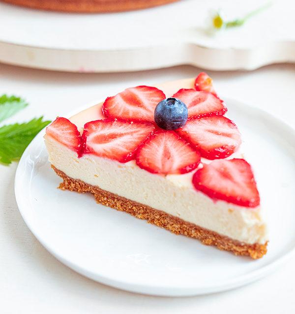Cheeecake mit Erdbeeren 28