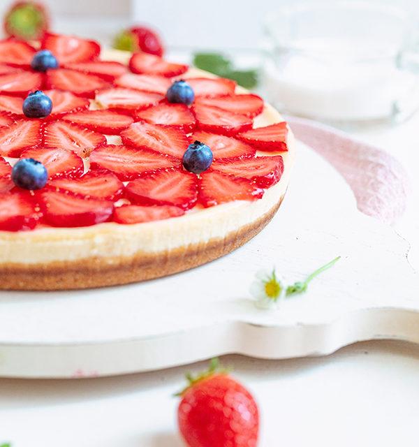 Cheeecake mit Erdbeeren 29