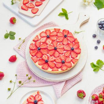 Cheeecake mit Erdbeeren 32