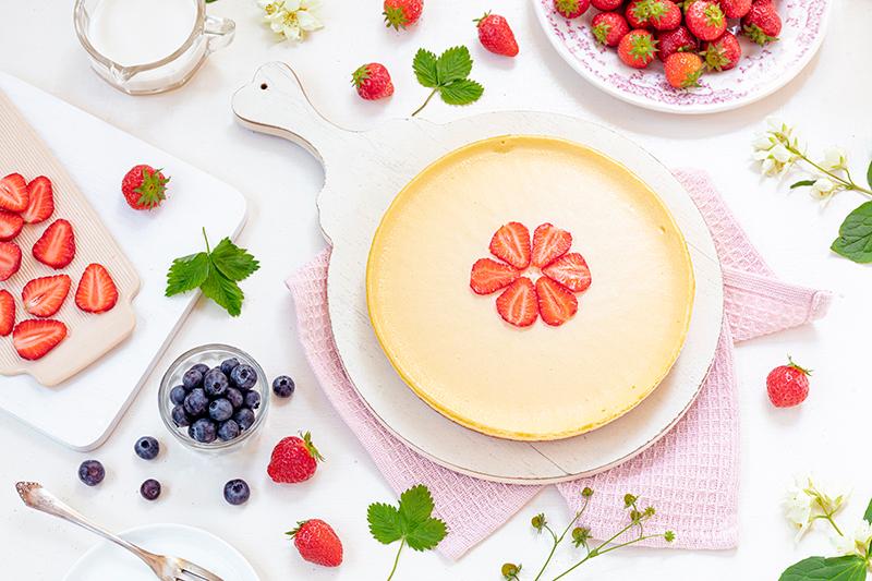Cheeecake mit Erdbeeren 34