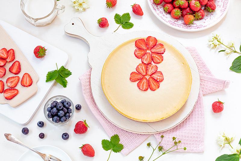 Cheeecake mit Erdbeeren 35