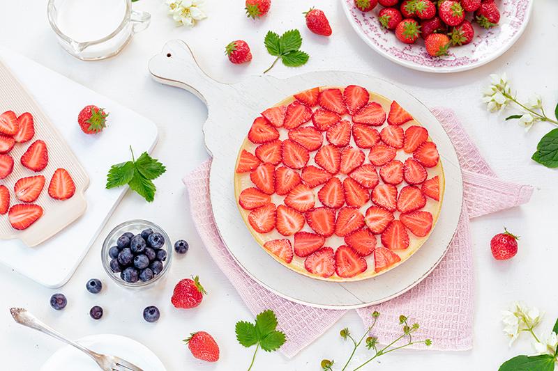 Cheeecake mit Erdbeeren 37