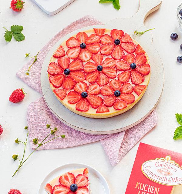 Cheeecake mit Erdbeeren 8