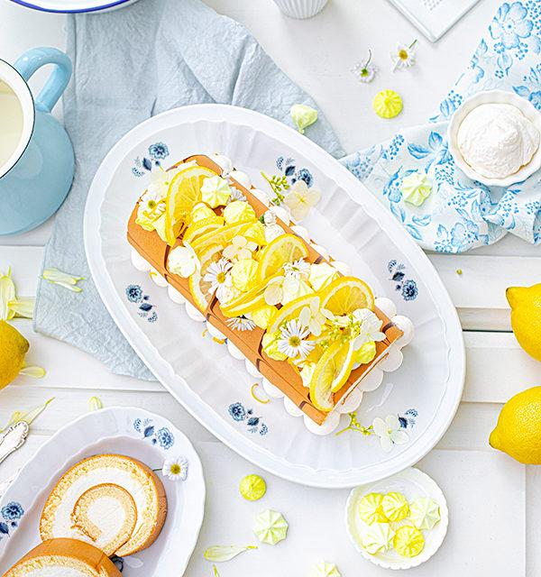 Zitronen-Sahne-Rolle im Sommerlook 16
