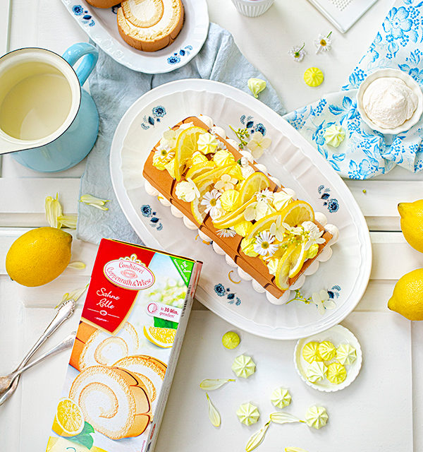 Zitronen-Sahne-Rolle im Sommerlook 23