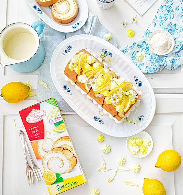 Zitronen-Sahne-Rolle im Sommerlook 24