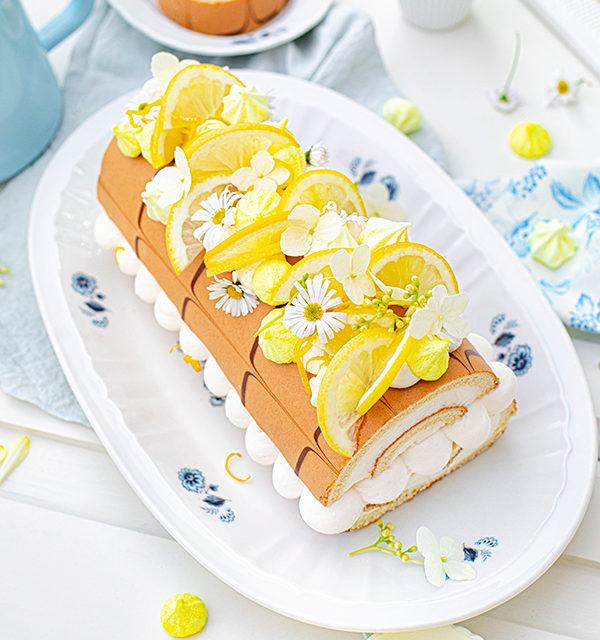 Zitronen-Sahne-Rolle im Sommerlook 25