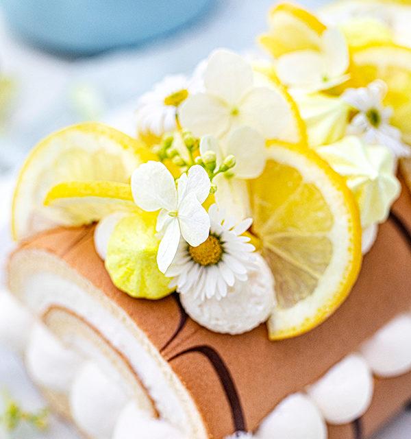 Zitronen-Sahne-Rolle im Sommerlook 28
