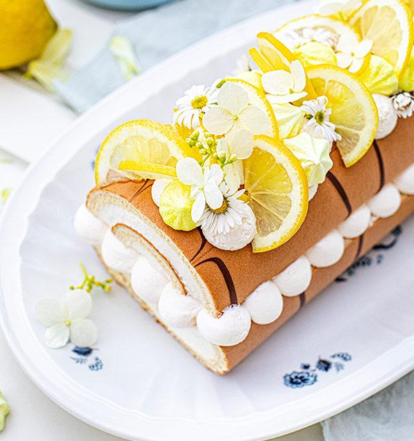 Zitronen-Sahne-Rolle im Sommerlook 29