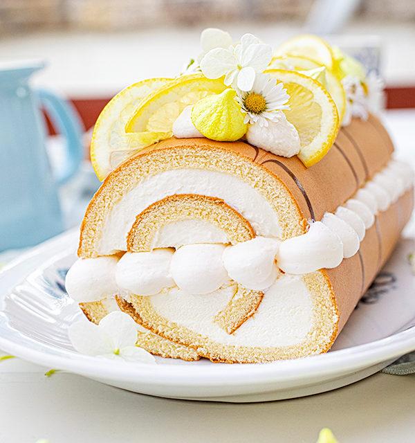 Zitronen-Sahne-Rolle im Sommerlook 32
