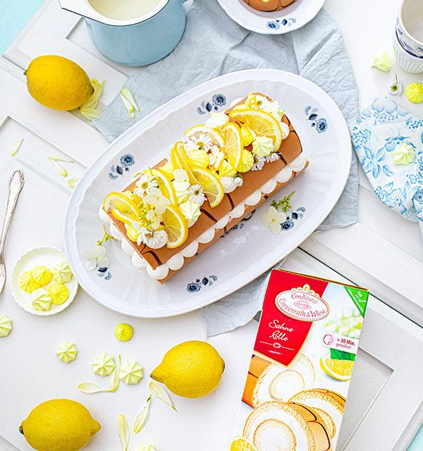 Zitronen-Sahne-Rolle im Sommerlook 36