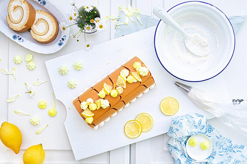Zitronen-Sahne-Rolle im Sommerlook 43