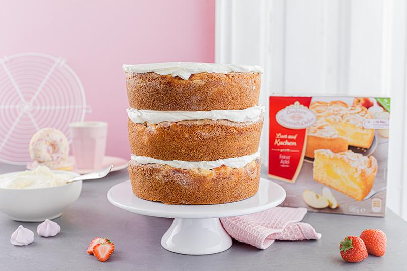 Faltline Cake Anleitung! So einfach wird's gemacht! 48