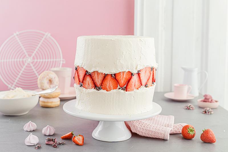 Faltline Cake Anleitung! So einfach wird's gemacht! 55