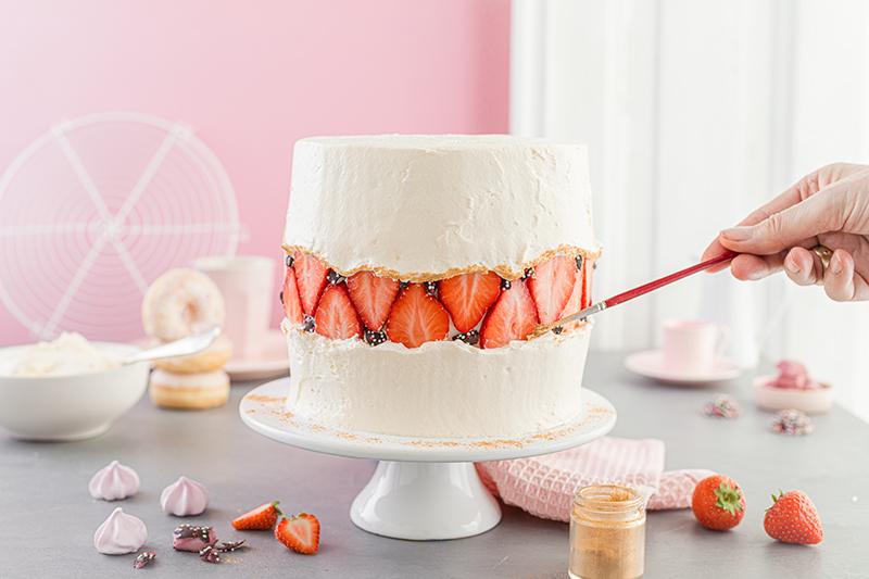 Faltline Cake Anleitung! So einfach wird's gemacht! 56