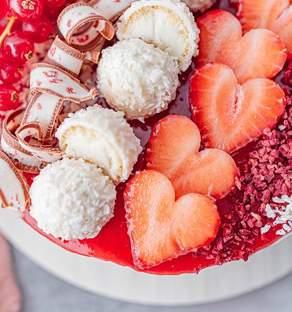Erdbeer-Torte mit Raffaello 19