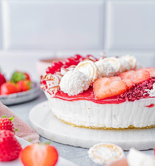 Erdbeer-Torte mit Raffaello 27