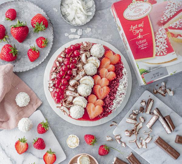 Erdbeer-Torte mit Raffaello 2